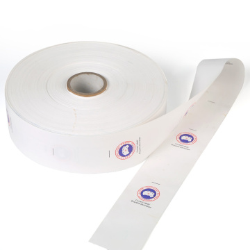 Custom garment wash care instruction clothing labels roll