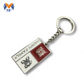 Personalized metal name keychains with customized logo