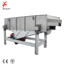 Multi layers aluminum dross linear vibrating screen machine