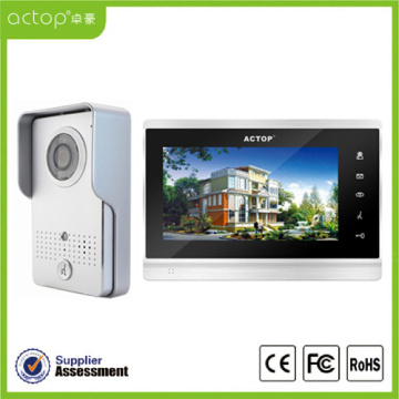 7 inch Metal IR Video Intercom Doorbell