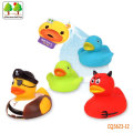 CQS623-12 CQS soft ducks 4PCS with BB sound