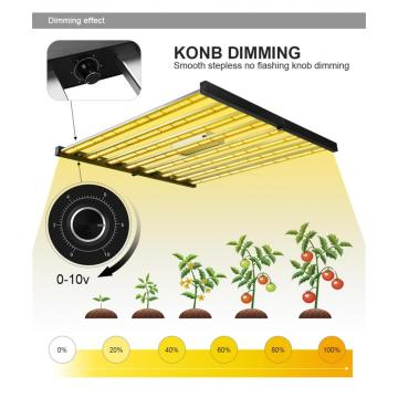 High Efficacy LED Strip Grow Light Bars