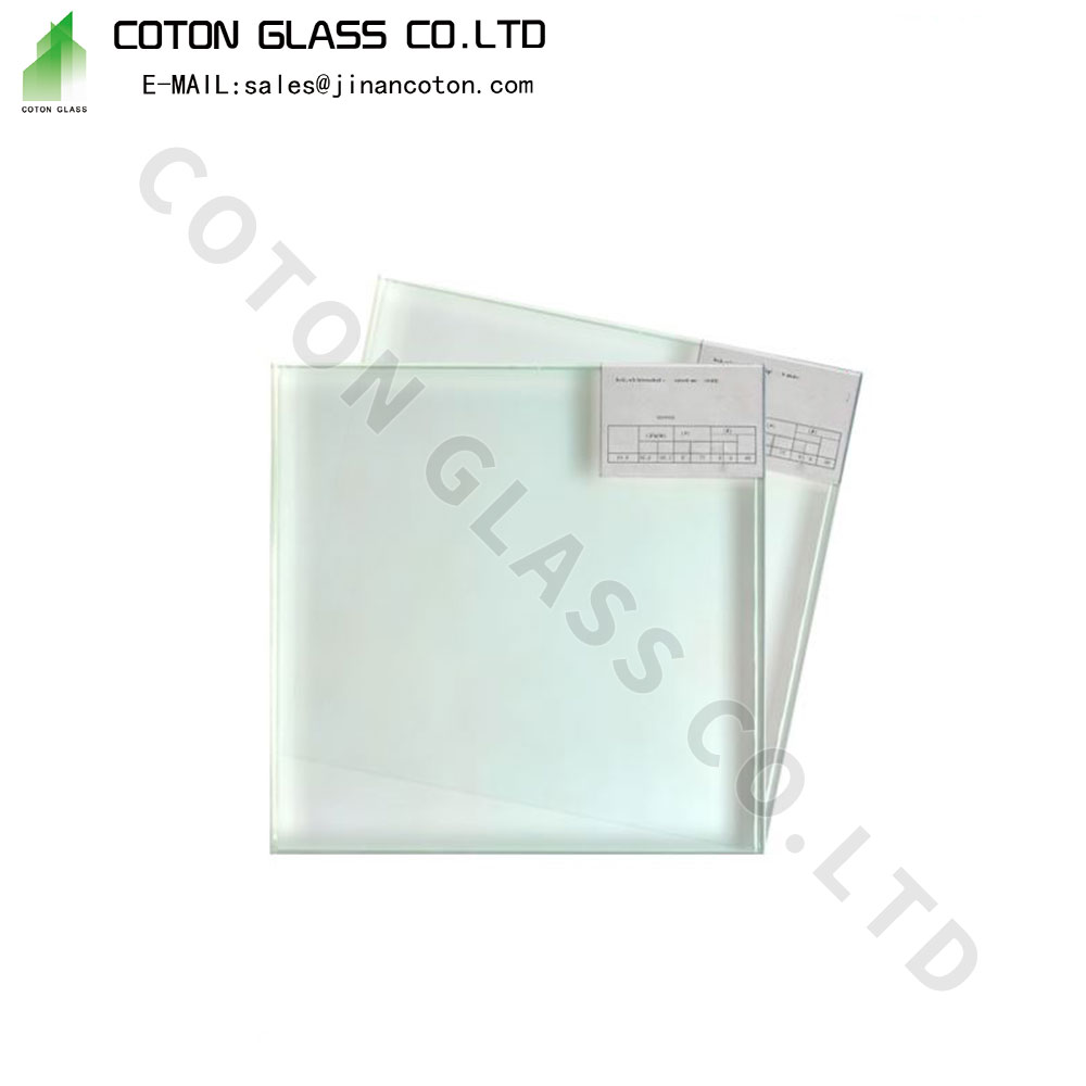 Green Frosted Glass