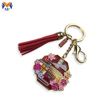 Make metal custom beautiful keychain design