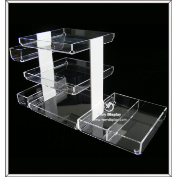 Hot sale clear acrylic countertop display tray