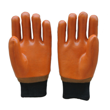 PVC Coated Gloves with knit wrist