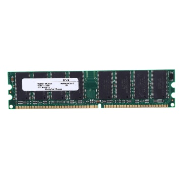 AAAJ-2.6V DDR 400MHz 1GB Memory 184Pins PC3200 Desktop for RAM CPU GPU APU Non-ECC CL3 DIMM