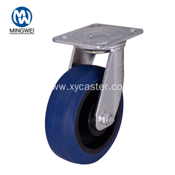 Heavy Duty Swivel 6 Inch Rubber Caster