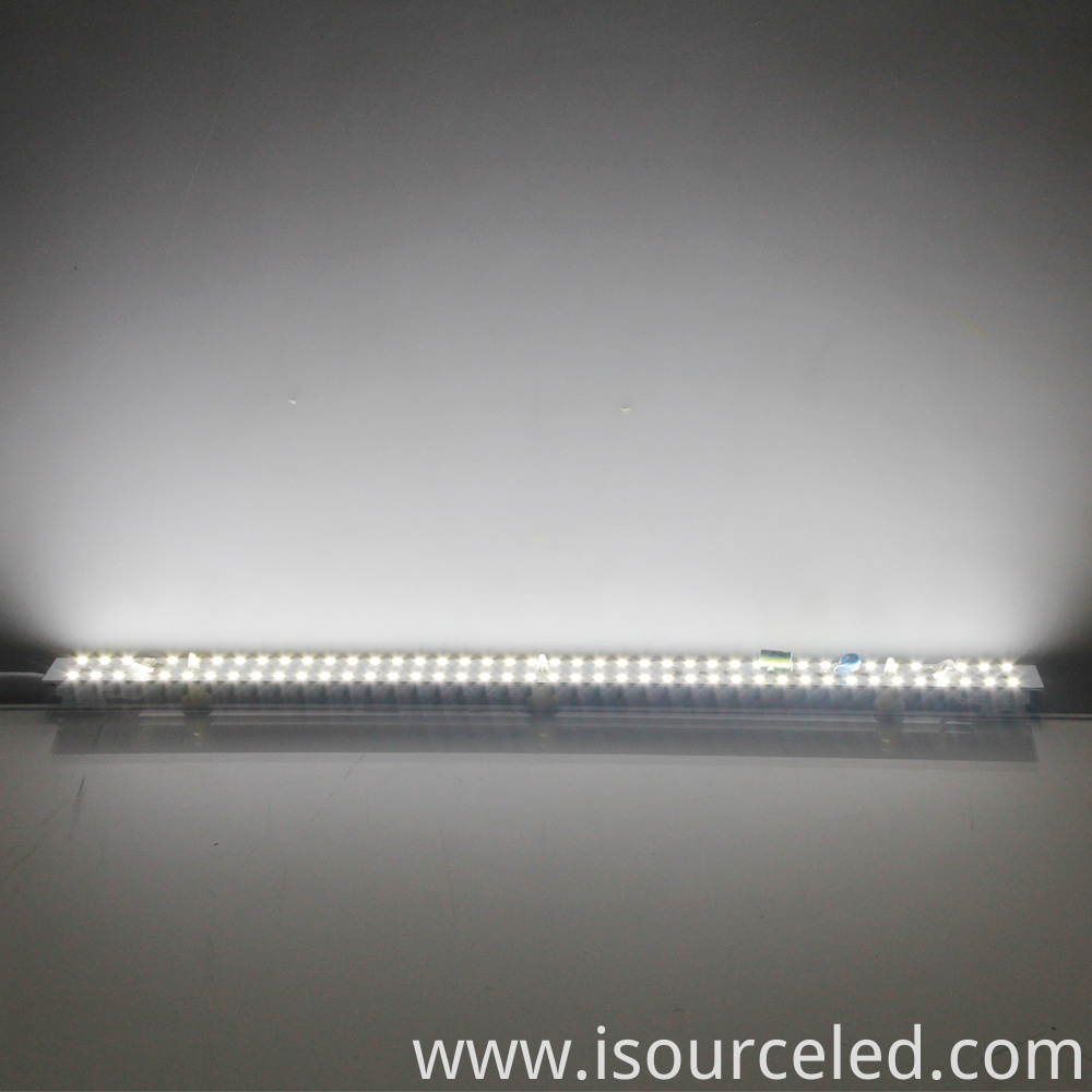 White light 9W ceiling light dimming module's luminous diagram