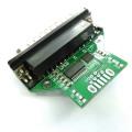 cp2102 USB rs232 Adapter plug B to db25 pcba Converter Module for bar code printer