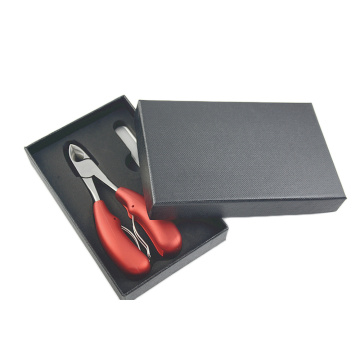 Cuticle clippers black gift box cuticle remover tool