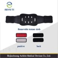 Comfortable Leather Magnetic Adjustable Lumbar Traction Belt