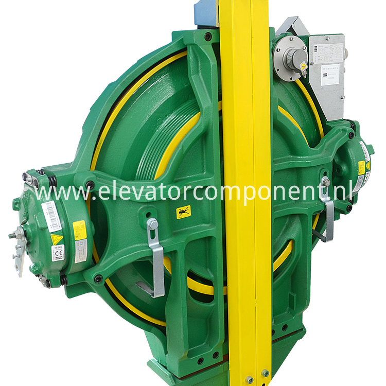 KONE Elevator MX10 Gearless Traction Machine