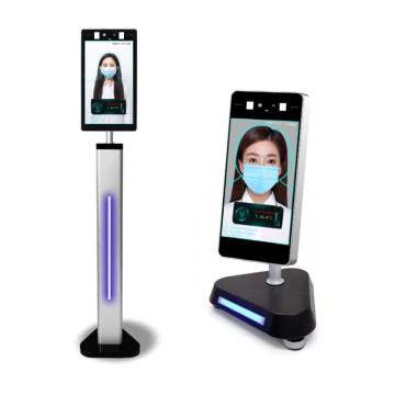 2020 8 Inch AI Face Recognition Thermometer