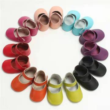 wholesale Genuine leather soft sole baby princess shoe