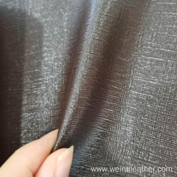 0.8mm Cross Fabric Grain PVC Leather
