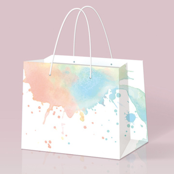 Colorful Embossing Surface Handling Stone Bags