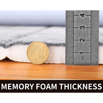 Memory Foam Bath Mat 3 Pieces Set