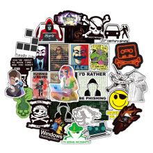 50Pcs Computer Programming Hacker Sticker Laptop Refrigerator Skateboard Waterproof Decals For Notebook Graffiti Sticker