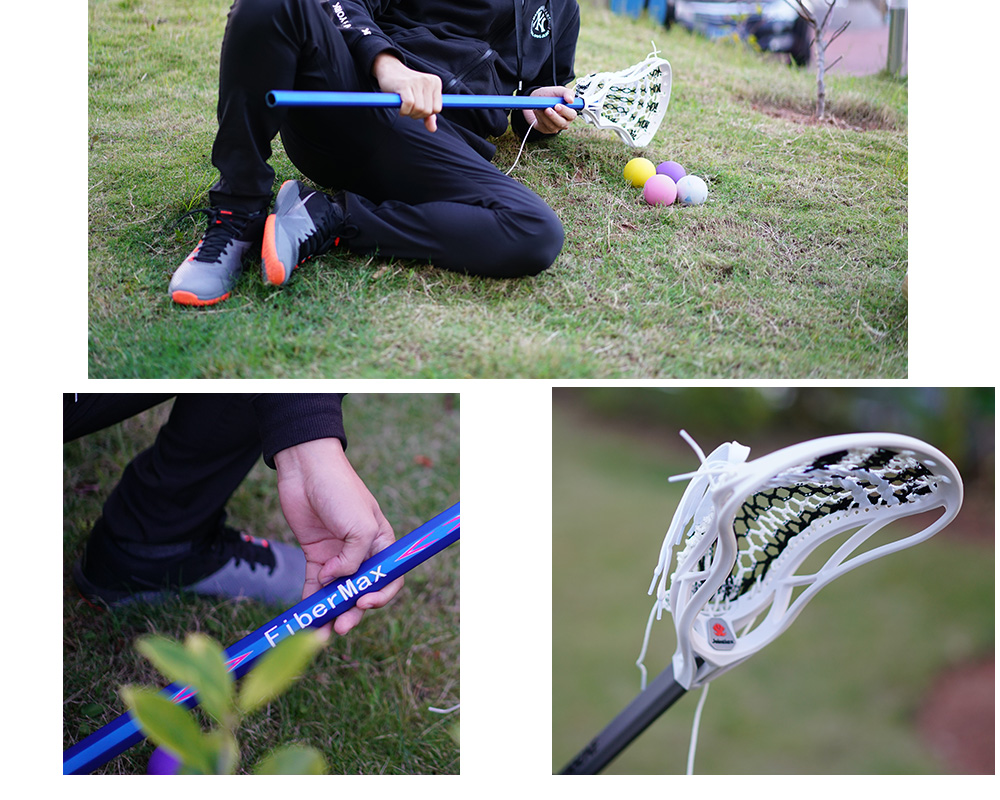 colorful lacrosse shaft