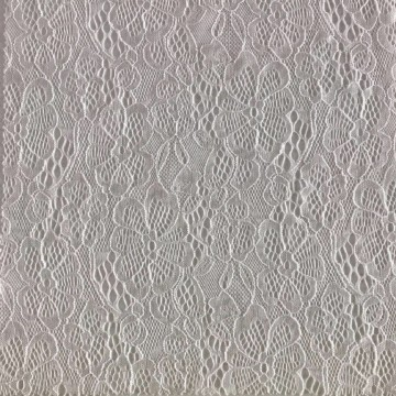 Floral Stretch Lace Fabric