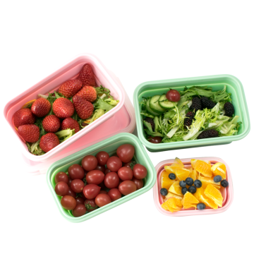 Oven Safe Food Grade Silicone Lunch Box