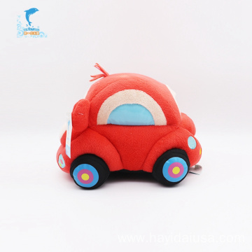 plush car toy with Children Encyclopedia