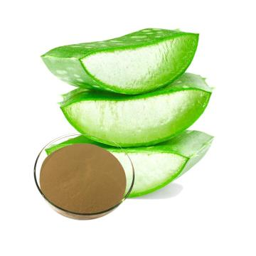 Pure aloe vera leaf extract for skin