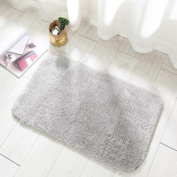 High Quality Water Absorbent Floor Carpet Non Slip Bath Mat Simple Doormat Bathroom Bedroom Rugs Toilet Foot Mats Soft Plush Pad