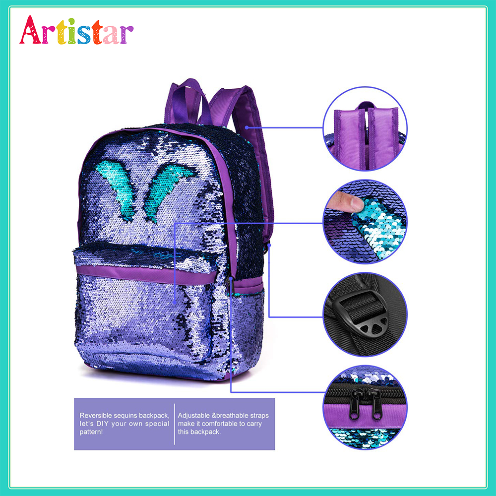 Sequins Backpack 02 4