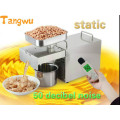 Free shipping Soybean oil press household electric stainless steel automatic small hot and cold pressed Oil Pressers