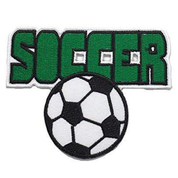 Soccer Football Fashion Embroidery Patches Sew Iron