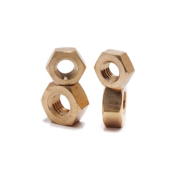 Brass DIN934 Hexagon Nuts