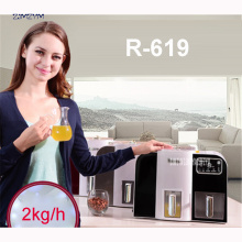 R-619 Mini Oil pressing Machine Soybean Home Use Oil Pressers Cold Peanuts Electric Stainless Steel ,acrylic Oil Press Machine