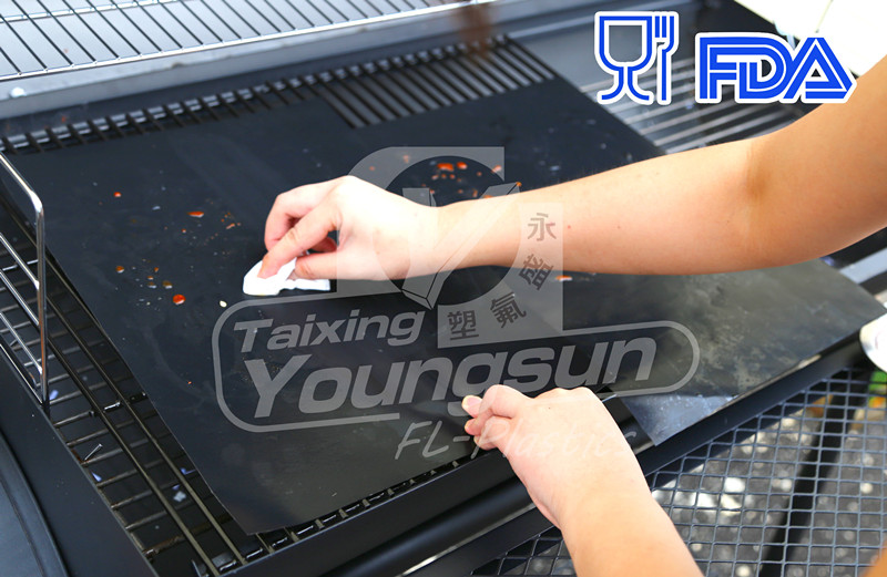 Miracle Grilling Mat which is Non-stick and Reusable