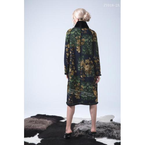 Reversible Women Kopenhagen Mink Coat Long