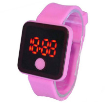 Digital Watches Silicone Bracelet LED Digital Watch