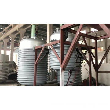 Continuous stirred tank stainless steel reactor