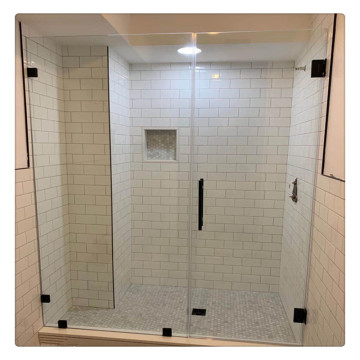 8mm 10mm 12mm Shower Glass Panel Tempered