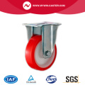 Red PU Industrial Caster