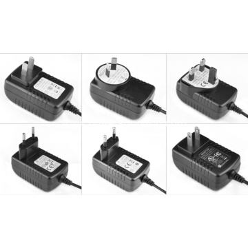 International Plugs Regulated Power Adapter