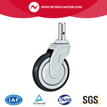 Solid Stem TPR Medical Caster