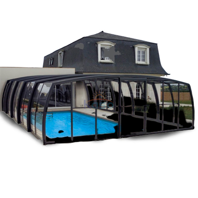 Enclosure Retractable Hot Tub Cover China Manufacturer