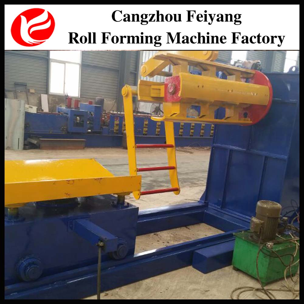coil steel hydraulic decoiler
