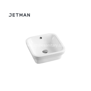 Art round lavatory washing hand sink art basin