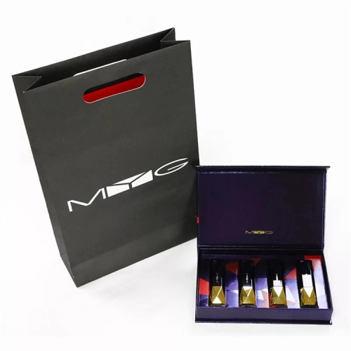Luxury Book Shape Lipstick Set Box With Magnetic