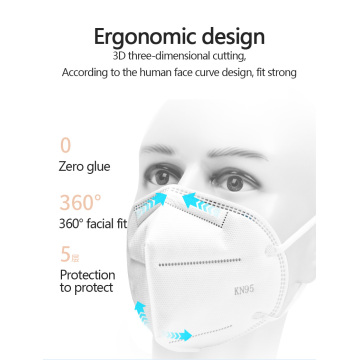 Disposable protection KN95 mask