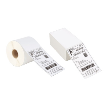 Custom self adhesive direct thermal 4X6 shipping label