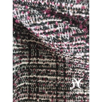 Boucle Yarn Sweater Knit Fabric
