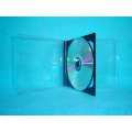 CD case CD  box CD cover 10.4mm double  with black tray(YP-B202)
